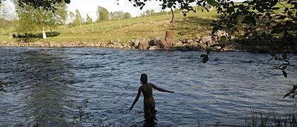 Bad i ån
